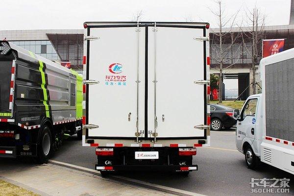 22方冷厢+日产动力东风凯普特K6冷藏车实拍