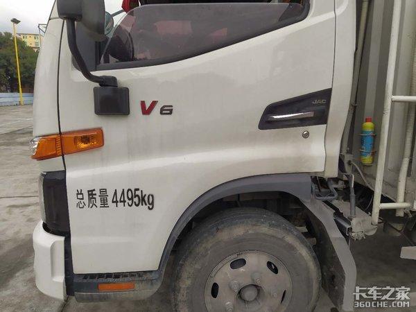 90后司机刚入行江淮骏铃V6可帮了大忙