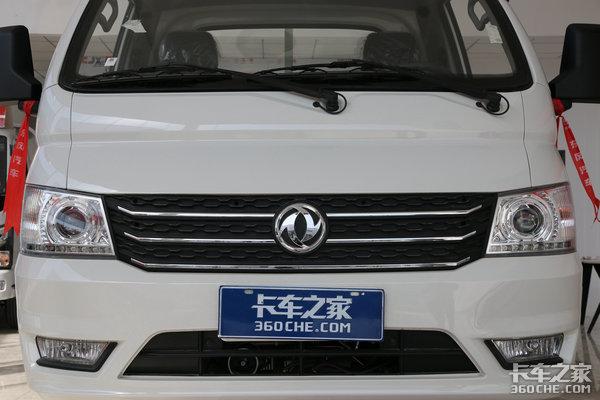 东风小霸王出新款国六排放还带大货箱