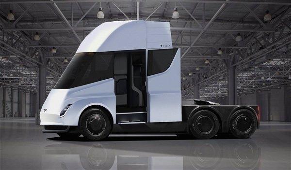 预计2020年底面世!特斯拉的电动卡车Semi现身:能跑966公里