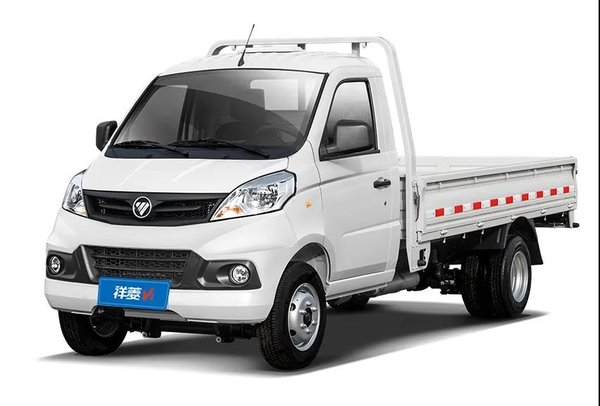 搭载122马力发动机福田祥菱V2微卡即将发布