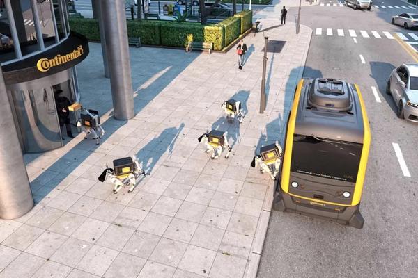 无人物流系统展望:机器人搬运+自动驾驶运输+机器狗送货全程无人!