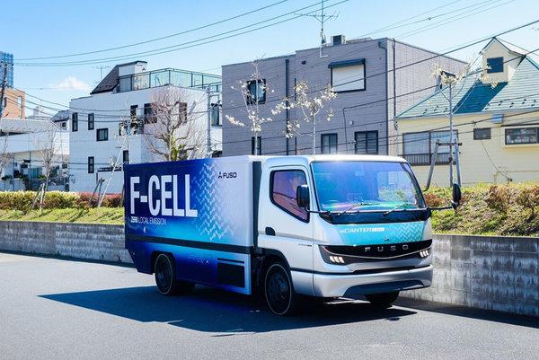 为实现零排放目标三菱扶桑卡客车计划在2029年前量产燃料卡车
