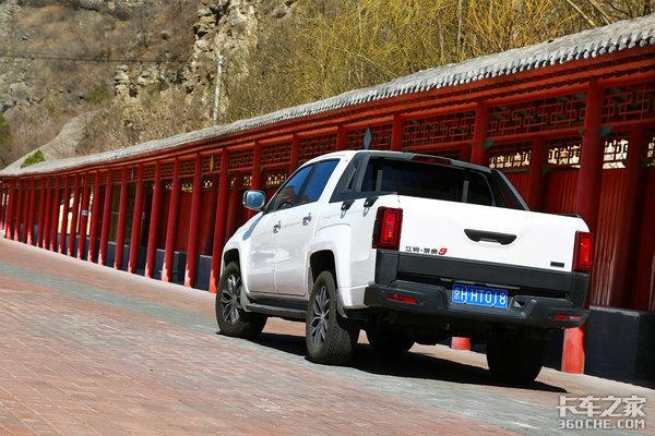 国内首款8AT柴油皮卡江铃域虎9柴油版将于4月2日正式上市