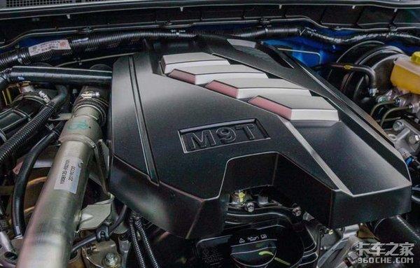 搭载日产原厂M9T柴油机,百公里油耗仅7.3升,东风锐骐6皮卡够高端