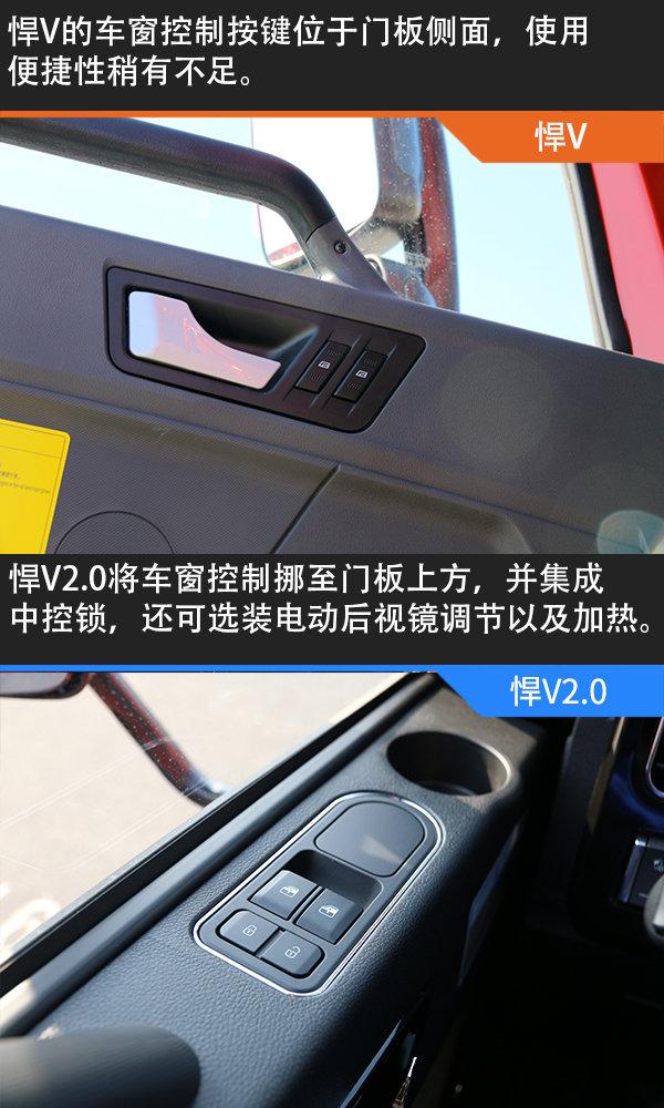 外观霸气内饰细腻悍V对比悍V2.0看解放神车如何诠释升级这事!