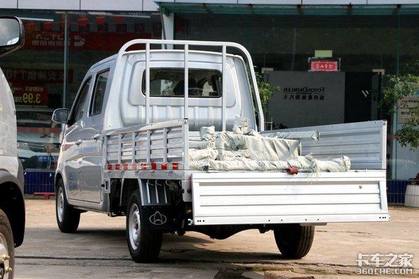客货两用的个体户拉货神器!长安T10满足家用和致富的选择