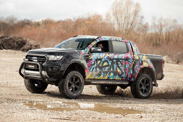 车身升高10厘米德国Delta4x4定制设计福特Ranger改装版亮相