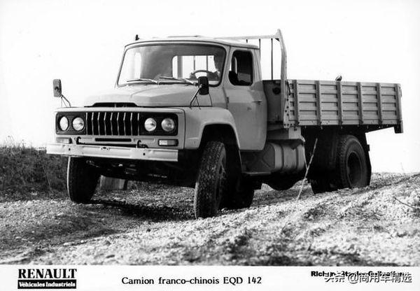 80年代EQD142的官图133马力配雷诺发动机