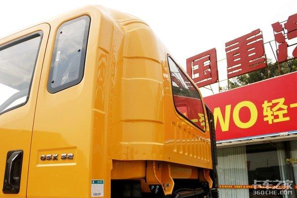 """重汽""""黄金动力链""""+8吨驱动桥这款豪沃G5X中卡很黄很暴力!"""
