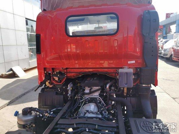 解放轻卡又出新品了5万公里长换油升级版的J6F来了更省油、省钱