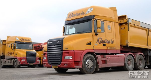 这款长头卡车和国产车相比仍然可圈可点