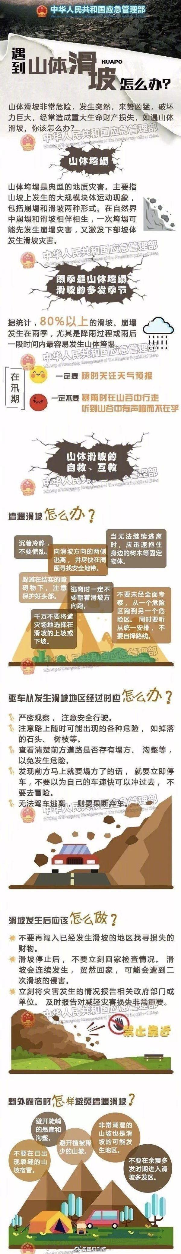 惊心动魄!四川凉山山体垮塌前几秒有两辆卡车刚刚驶过