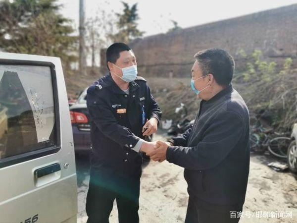 """邯郸民警""""千里追车""""货车被盗6年后找回卡友:为民警点赞"""