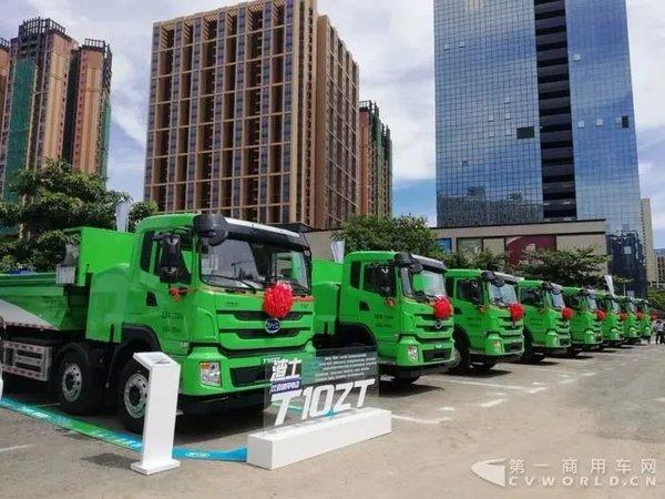 国三车补贴力度大/低平板半挂车拉55吨这些利好政策你了解吗?