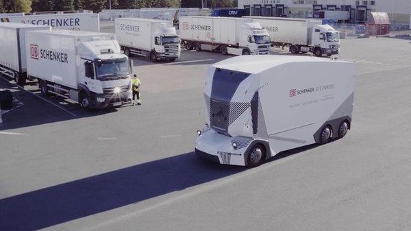 Einride展示自动驾驶远程操控一位操作员可同时监控10台车辆