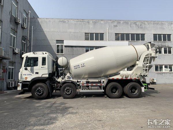 整备质量13300kg这款搅拌车值得信任