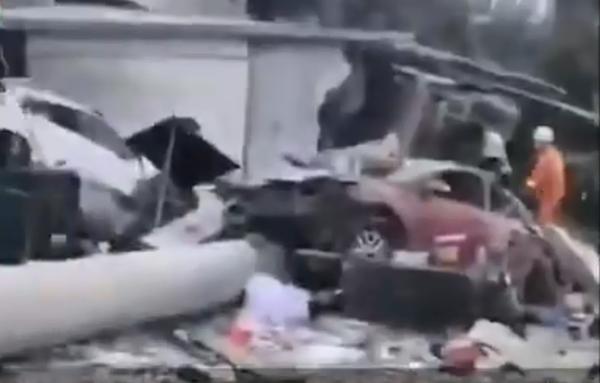 已致9死8伤!官方通报福建货车撞民房事故:系刹车失灵