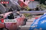福建一半挂车失控致9死 目击者:直接冲到集市里了