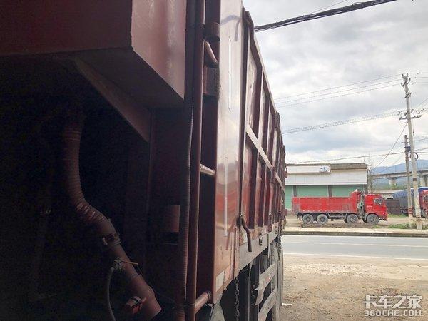 这台3年多的二手东风天锦自卸车,只要不到10万块,为啥这么便宜?