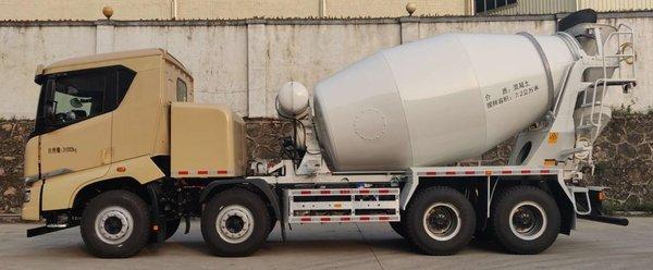 外观过于犀利比亚迪推出纯电动混凝土搅拌车