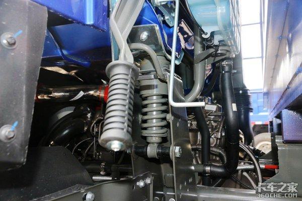 单桥自卸4108玉柴机重汽王牌腾狮标配自动空调
