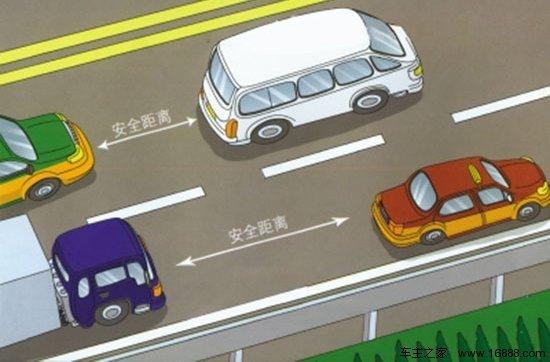 高速车距过近吃罚单!卡友:还有这规定?我是第一次听说!