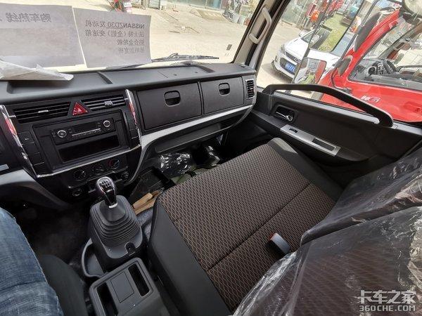 150马力日产发动机+法士特6挡变速箱,东风凯普特轻卡让体验升级