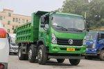 装15.6吨沙石不超载 重汽王牌力狮6x2自卸车图解