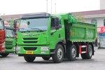 合规装载16.25吨 6x2解放龙V自卸车实拍