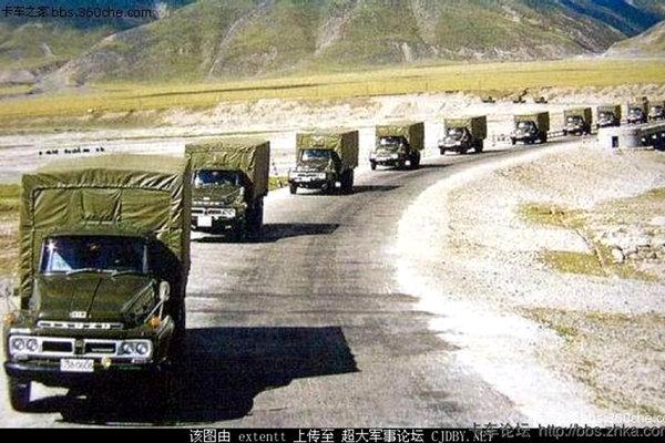 邂逅五十铃TD72长头卡车80年代青藏线汽车兵的运输搭档