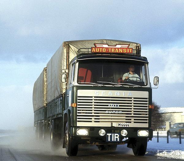 50年前就有这实力 看一看斯堪尼亚L140
