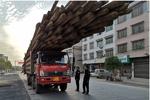 货物超出车身12米被严罚 邵阳隆回加大力度治超