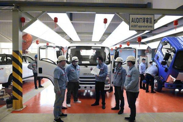搭载4JJ1柴油机,怠速转速仅600转江西五十铃轻卡来了!