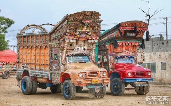 大开眼界!卡车除了能拉货,在艺术家的手中还能这么玩儿