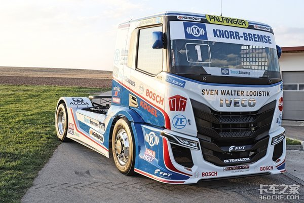 斯堪尼亚不只是公路之王,看看它即将推出的ETRC赛车,改装很暴力