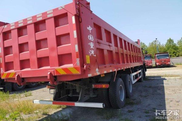 济南鑫东润最新批量特价资源重汽豪沃8.8米大自卸飘全国