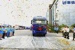 上汽红岩车辆圆满交付上海联达物流有限公司