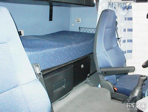 沃尔沃XL驾驶室已经用了25年,舒适性却有增无减,怎么做到的?