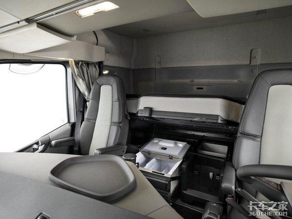 沃尔沃XL驾驶室用25年舒适性有增无减