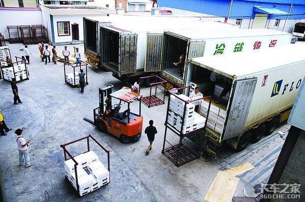 挂车情报局12:半挂冷藏车何时替代海柜