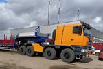 欧洲动力+法士特箱 白俄8x8重型牵引车