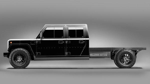 进军商用界Bollinger发布电动卡车底盘