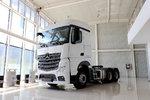 卡车新体验(12) 6x4驱动奔驰New Actros
