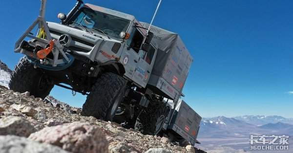 破世界纪录 带你看看奔驰最强越野卡车