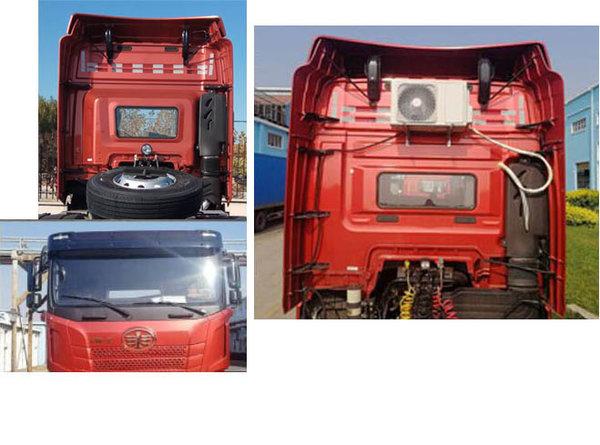 480马力6DM3现身将搭载于解放JH6