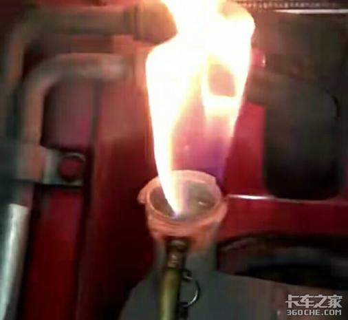 燃气卡车水箱内冷却液为何遇火会燃烧?别慌,可能是汽化器泄漏了
