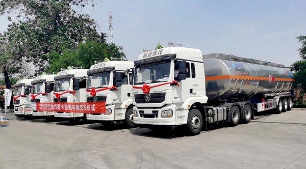 加油站卖车瑞江液罐车助力中石化跨界