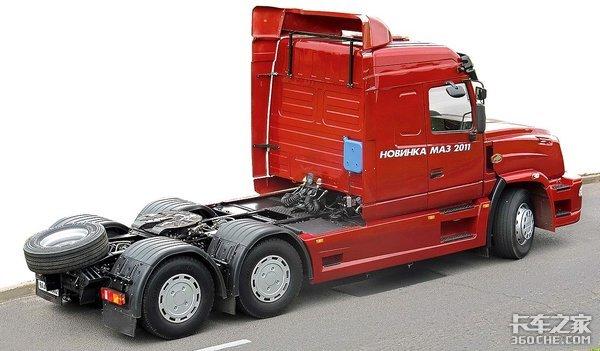 600马力V8发动机,8气囊悬挂,战斗民族的长头卡车配置很狂野