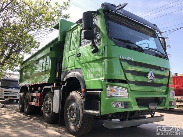 5.8米U型货厢装卸货效率高,想超载都难,重汽新HOWO-7渣土车详解